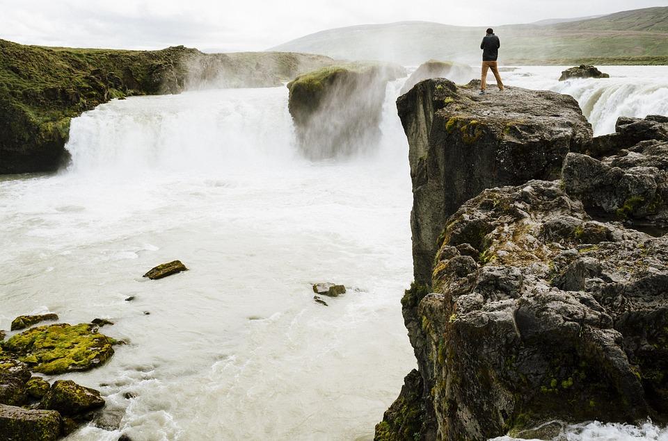 Cachoeiras da Costa Sul da Islândia